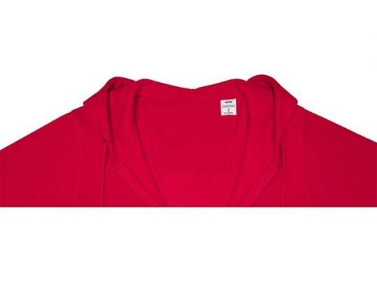Женская толстовка на молнии Theron, красный (4XL), арт. 022878703