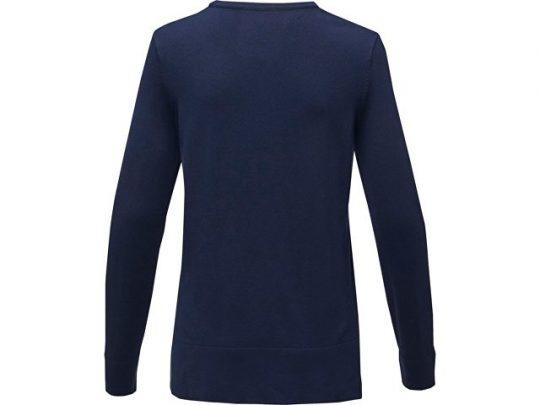 Женский пуловер Merrit с круглым вырезом, темно-синий (XS), арт. 022288203