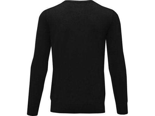 Мужской пуловер Merrit с круглым вырезом, черный (S), арт. 022286803