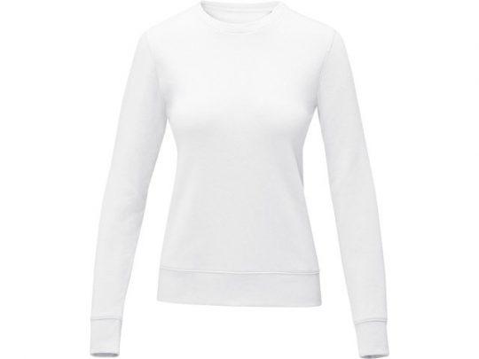 Женский свитер Zenon с круглым вырезом, белый (2XL), арт. 022889103