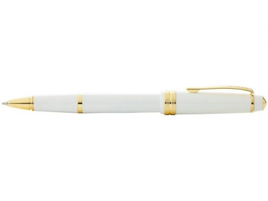 Ручка-роллер Cross Bailey Light Polished White Resin and Gold Tone, арт. 022867903