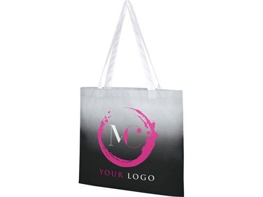 Эко-сумка Rio с плавным переходом цветов, черный, арт. 022870903