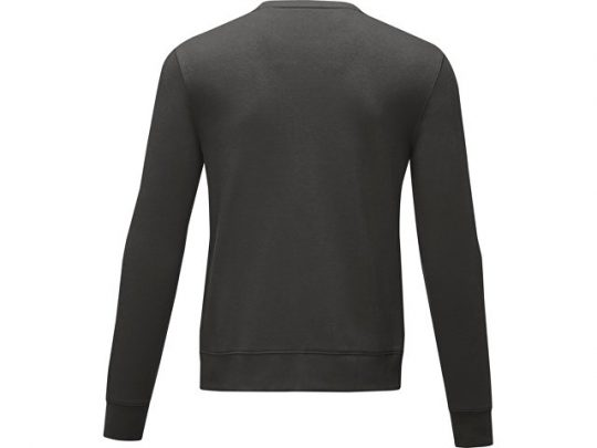 Мужской свитер Zenon с круглым вырезом, storm grey (S), арт. 022886903