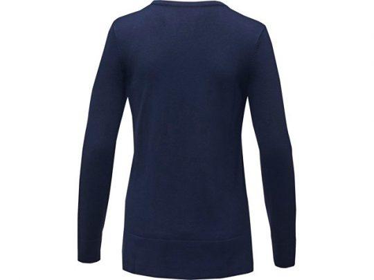 Женский пуловер с V-образным вырезом Stanton, темно-синий (2XL), арт. 022285603