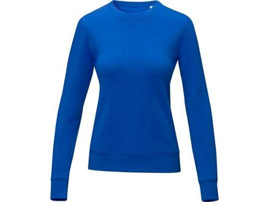 Женский свитер Zenon с круглым вырезом, cиний (L), арт. 022892103
