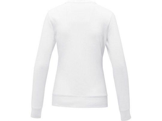 Женский свитер Zenon с круглым вырезом, белый (L), арт. 022889203