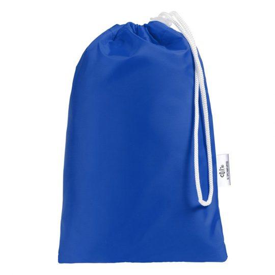 Дождевик «Иссиня-трезв», ярко-синий, размер XL