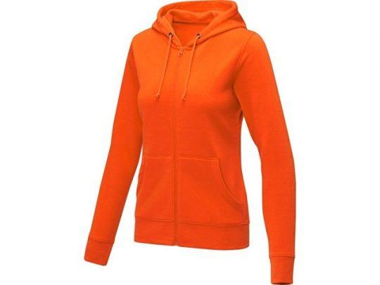 Женская толстовка на молнии Theron, оранжевый (M), арт. 022879203