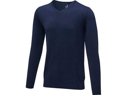 Мужской пуловер Stanton с V-образным вырезом, темно-синий (2XL), арт. 022284603