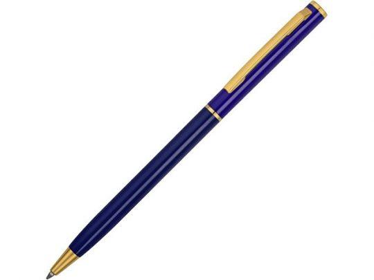 Ручка шариковая Жако с серебристой подложкой, темно-синий, арт. 022837403