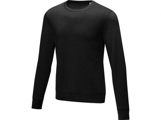 Мужской свитер Zenon с круглым вырезом, черный (L), арт. 022886803