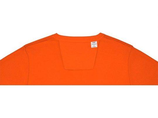 Мужской свитер Zenon с круглым вырезом, оранжевый (S), арт. 022884103