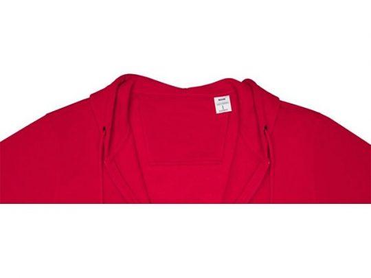 Мужская толстовка на молнии Theron, красный (4XL), арт. 022875303