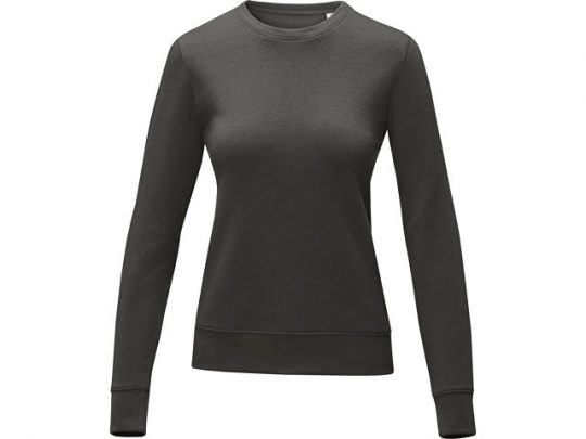 Женский свитер Zenon с круглым вырезом, storm grey (XS), арт. 022890803