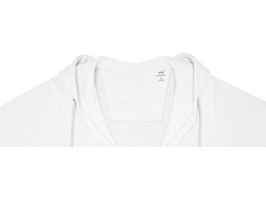 Женская толстовка на молнии Theron, белый (3XL), арт. 022877503
