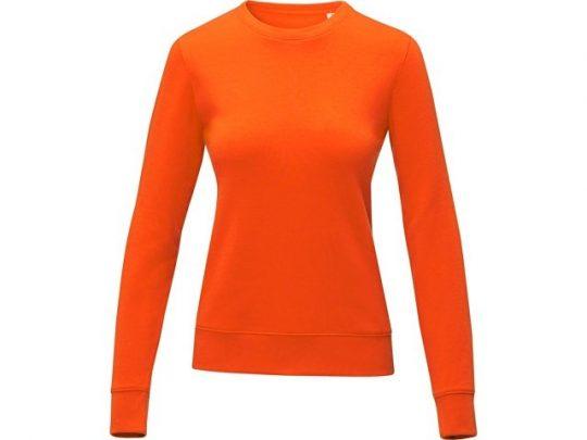 Женский свитер Zenon с круглым вырезом, оранжевый (M), арт. 022889803