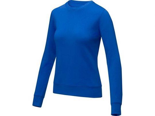 Женский свитер Zenon с круглым вырезом, cиний (XL), арт. 022890203