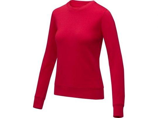 Женский свитер Zenon с круглым вырезом, красный (4XL), арт. 022891903