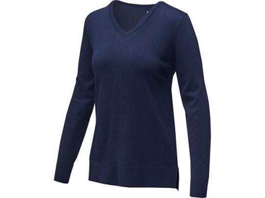 Женский пуловер с V-образным вырезом Stanton, темно-синий (S), арт. 022286003