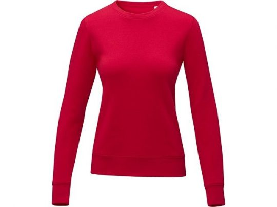 Женский свитер Zenon с круглым вырезом, красный (S), арт. 022892203