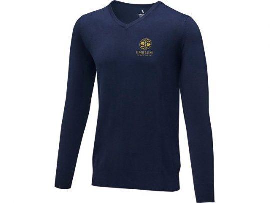 Мужской пуловер Stanton с V-образным вырезом, темно-синий (XL), арт. 022284703