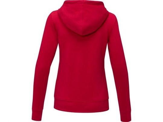 Женская толстовка на молнии Theron, красный (XL), арт. 022878303
