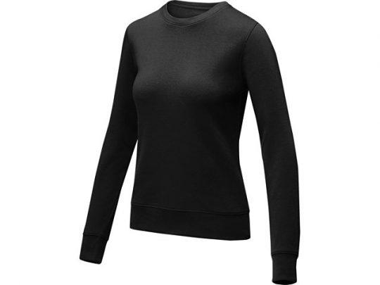 Женский свитер Zenon с круглым вырезом, черный (XL), арт. 022889303