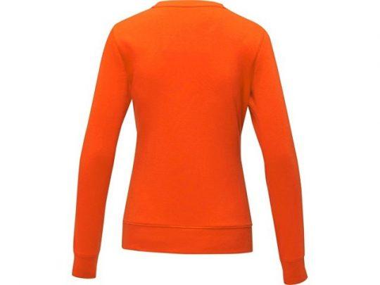 Женский свитер Zenon с круглым вырезом, оранжевый (XS), арт. 022888003