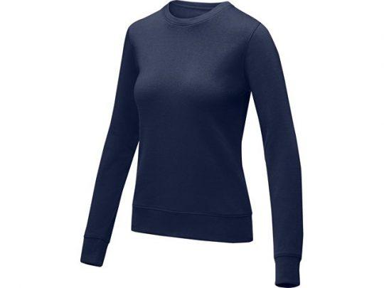 Женский свитер Zenon с круглым вырезом, темно-синий (L), арт. 022891803