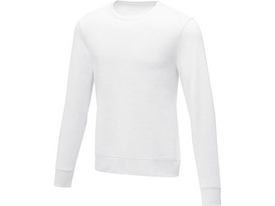 Мужской свитер Zenon с круглым вырезом, белый (XL), арт. 022882603