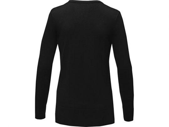 Женский пуловер с V-образным вырезом Stanton, черный (M), арт. 022286203