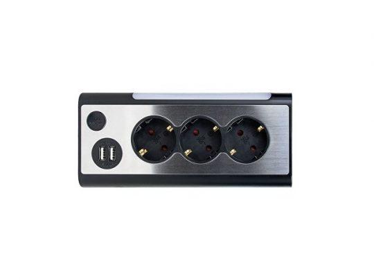 Сетевой фильтр Rombica NEO TRINITY – Black, арт. 022902203