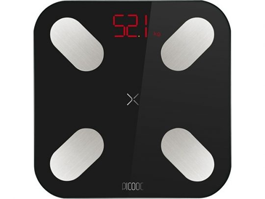 Умные диагностические весы Picooc Mini Black V2 (6924917717391), черный, арт. 022867703