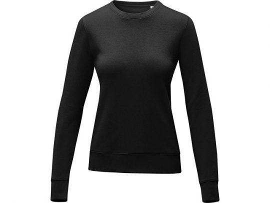 Женский свитер Zenon с круглым вырезом, черный (S), арт. 022891703