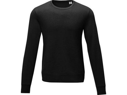 Мужской свитер Zenon с круглым вырезом, черный (XS), арт. 022885903