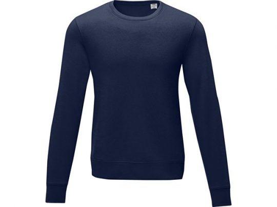 Мужской свитер Zenon с круглым вырезом, темно-синий (XL), арт. 022887803