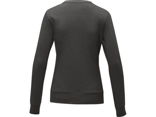 Женский свитер Zenon с круглым вырезом, storm grey (S), арт. 022890503