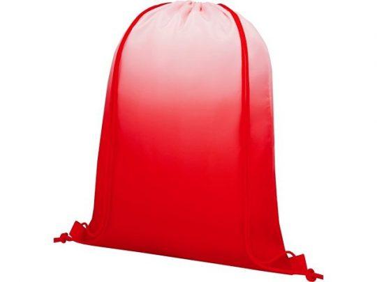 Сетчатый рюкзак Oriole со шнурком и плавным переходом цветов, красный, арт. 022870303