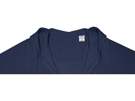 Женская толстовка на молнии Theron, темно-синий (2XL), арт. 022880103