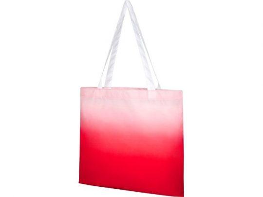 Эко-сумка Rio с плавным переходом цветов, красный, арт. 022871303