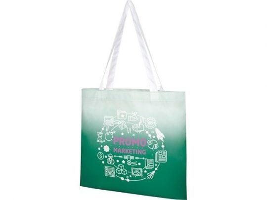 Эко-сумка Rio с плавным переходом цветов, зеленый, арт. 022871203