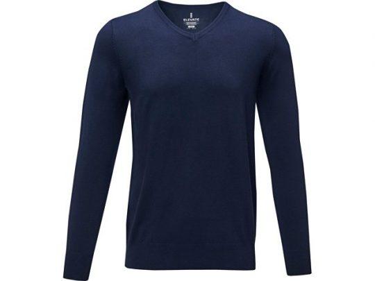 Мужской пуловер Stanton с V-образным вырезом, темно-синий (S), арт. 022284903