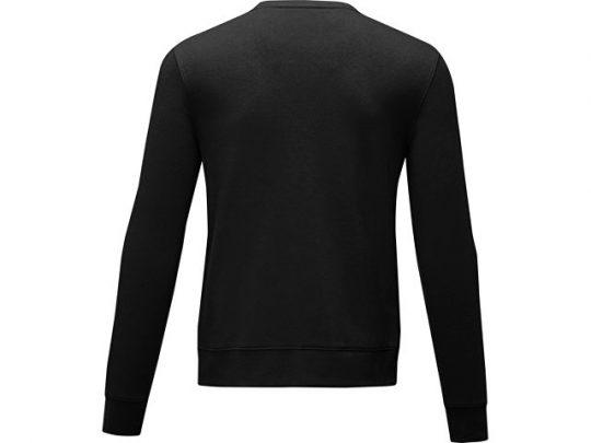 Мужской свитер Zenon с круглым вырезом, черный (XL), арт. 022886503