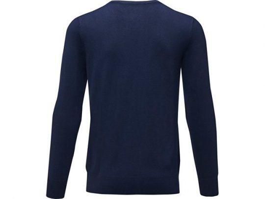 Мужской пуловер Merrit с круглым вырезом, темно-синий (XL), арт. 022287203