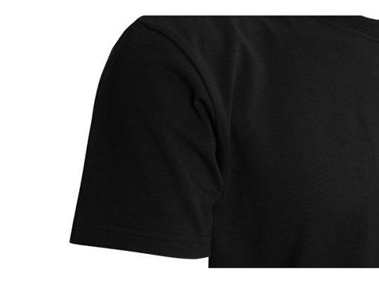Футболка HD Fit короткий рукав с эластаном_S, мужская,чёрный (S), арт. 022288703