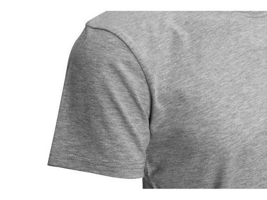 Футболка HD Fit короткий рукав с эластаном_XL, мужская,серый меланж (XL), арт. 022290003