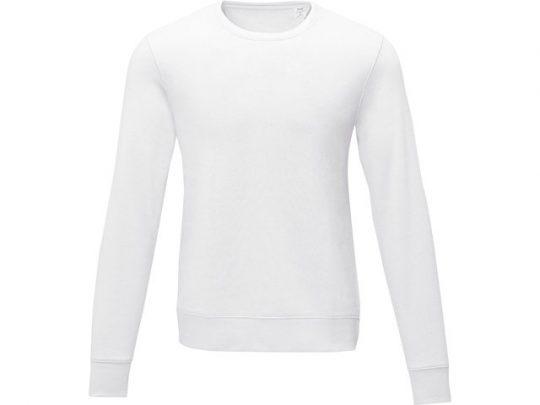 Мужской свитер Zenon с круглым вырезом, белый (S), арт. 022882303