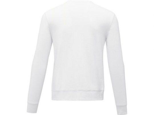 Мужской свитер Zenon с круглым вырезом, белый (L), арт. 022882203