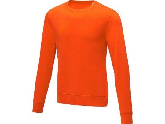 Мужской свитер Zenon с круглым вырезом, оранжевый (L), арт. 022883903