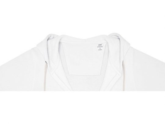 Женская толстовка на молнии Theron, белый (4XL), арт. 022878203
